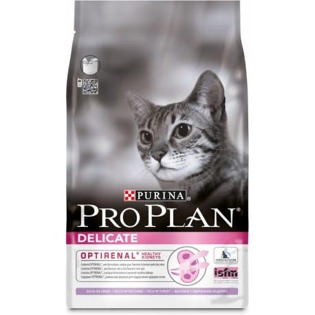 ProPlan Cat Delicate Turkey&Rice 1,5kg