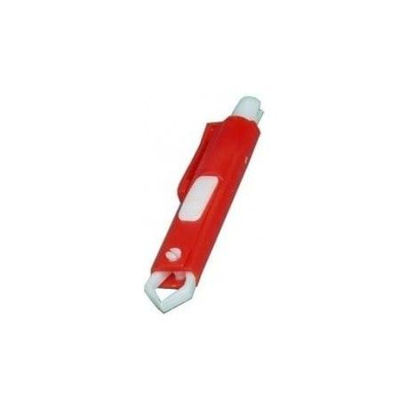 Kleště na klíšťata plast červené Kruuse 1ks