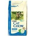 Purina Cat Chow - tuniak, losos 1,5kg