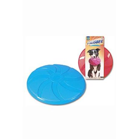 Hračka pes létající talíř Frisbee plastový 23,5cm