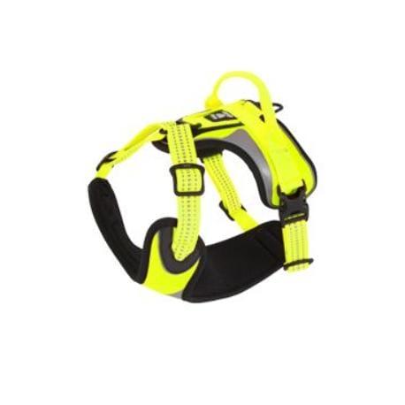 Postroj Hurtta Lifeguard Dazzle 45-60cm žlutý