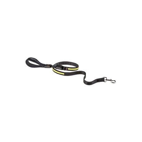 Vodítko nylon ERGOLED Solar+USB G 125cmx25mm žluté