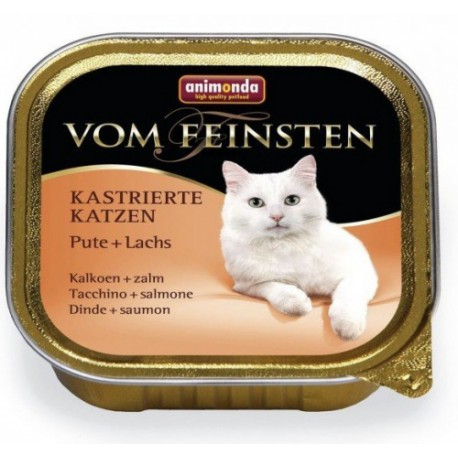 Animonda paštika pro Kastráty - krůta/losos kočka 100g