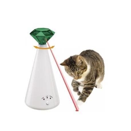 Hračka kočka Laser Phantom, 10x21cm FP