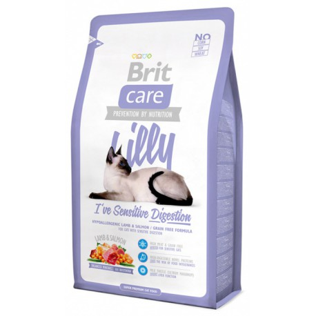 Brit Care Cat Lilly I´ve Sensitive Digestion 7kg