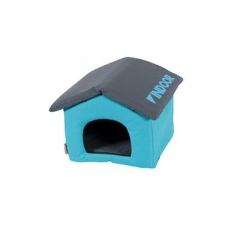 Domek pro hlodavce INDOOR modrá/šedá Zolux