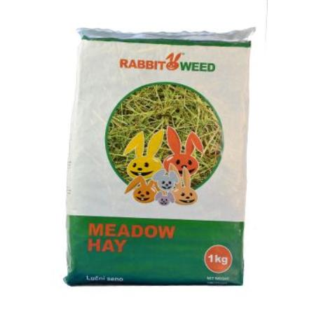 Seno  luční RabbitWeed 1kg 40 l