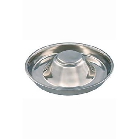 Miska nerez pro štěně se zvýšeným středem 1,4l 29cm TR