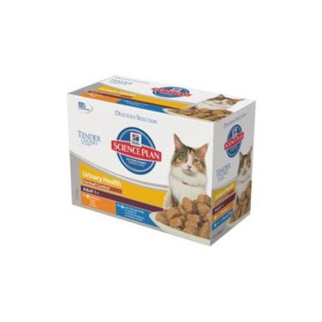 Hill's Feline kapsa Adult Urinary Hairball 12x85g
