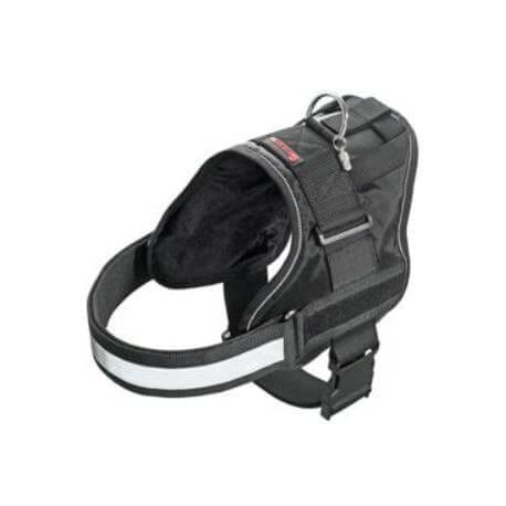 Postroj teflon XTREME černý reflex 47-57/25 KAR 1ks