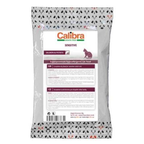 Calibra Cat GF Sensitive Salmon80g - vzorek NEW