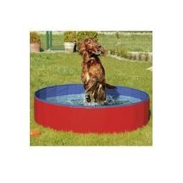 Bazén sklad. nylón pes 120x30cm blue/red KAR 1ks