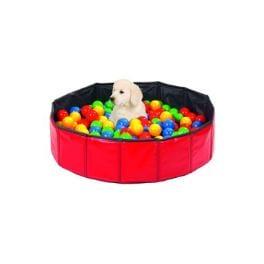 Hračka pes Míče barevné kondiční do bazénu KAR 250ks