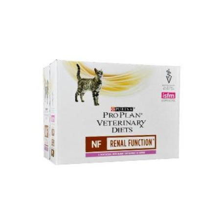 Purina PPVD Feline  kaps. NF Renal Function salm10x85g