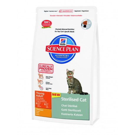 Hill's Fel. Dry Adult Young Sterilized Chicken-vzorek