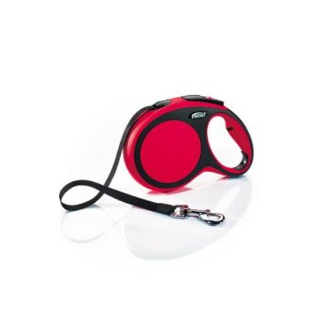 Vodítko flexi Comfort L pásek 8m/50kg červená
