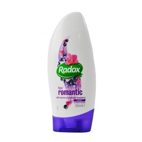 Radox sprchový gel dámský Feel Romantic krémový 250ml