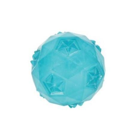 Hračka pes míček TRP BALL 6cm tyrkysová Zolux
