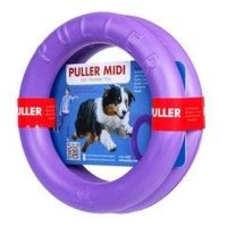 Hračka pes PULLER Midi 20/3cm 2ks