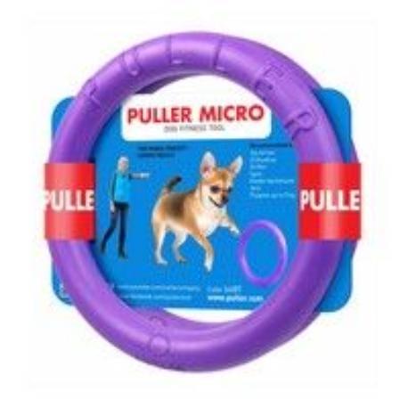 Hračka pes PULLER Mikro 12,5/1,5cm 2 ks