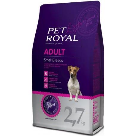 Pet Royal Adult Dog Small Breed 2,7kg