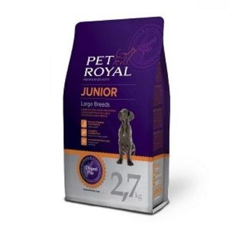 Pet Royal Junior Dog Large Breed 2,7kg