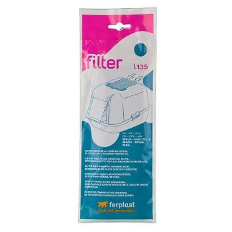 Náhr. filtr uhlík. k WC pro kočky L135 Bella,Magix FP