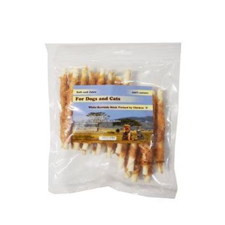 Pochúťka Tyčinka z byvolej kože s kuracím mäsom 250g