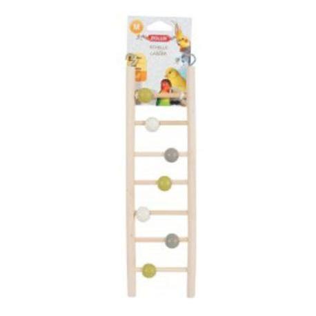 Rebrík pre vtáky drevený 7 priečok 35cm Zolux