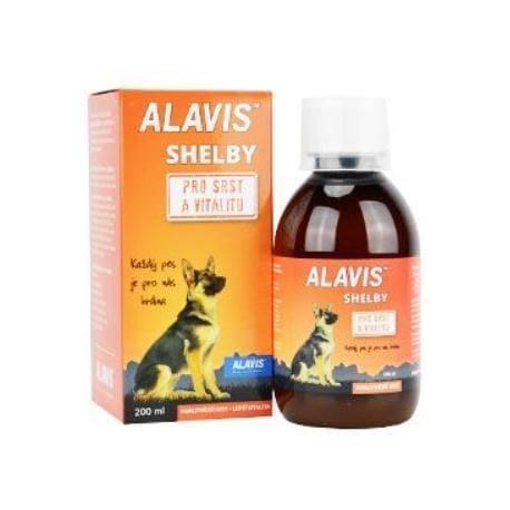 Alavis SHELBY pro srst a vitalitu 200ml
