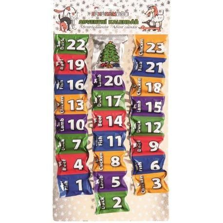 HUHU Adventní kalendář 260g
