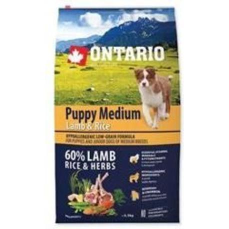 ONTARIO Dog Puppy Medium Lamb & Rice 6,5kg