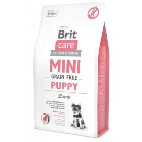 Brit Care Dog Mini Grain Free Puppy Lamb 2kg
