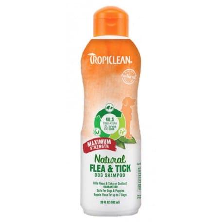 Tropiclean Šampon Flea and Tick Maximum Strength 592ml