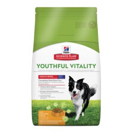 Hill's Canine Dry 7+ Youthful Vitality Medium 2,5kg