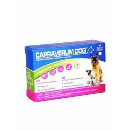 CCAPRAVERUM DOG probioticum-prebioticum 30tbl