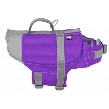 Vesta plavací Hurtta Life Savior 10-20kg fialová