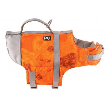 Vesta plavací Hurtta Life Savior 40-80kg oranžová camo