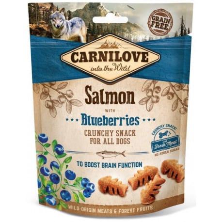 Carnilove Dog Crunchy Snack Salmon&Blueberries 200