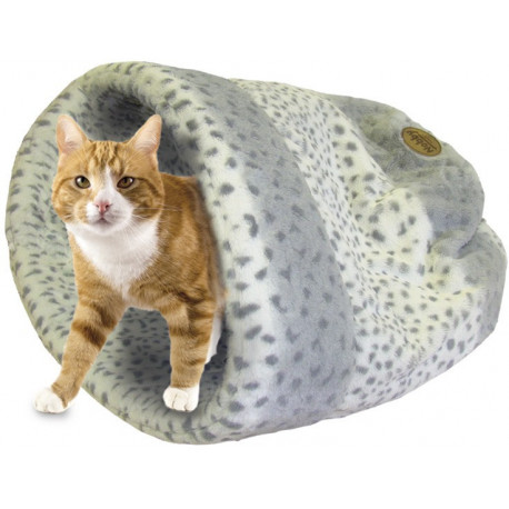 Nobby ALANIS spací pytel pro kočky a malé psy šedá 45