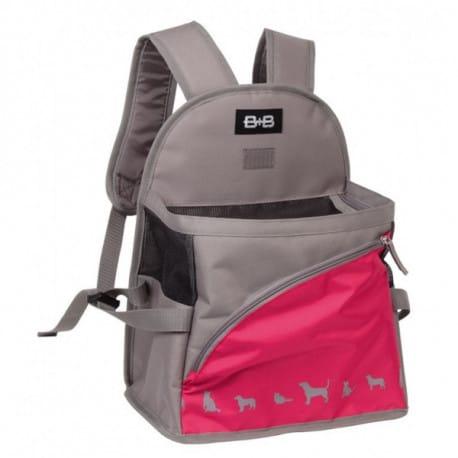 Nobby KAIMAN batoh na psa růžový 29x19x25-37cm