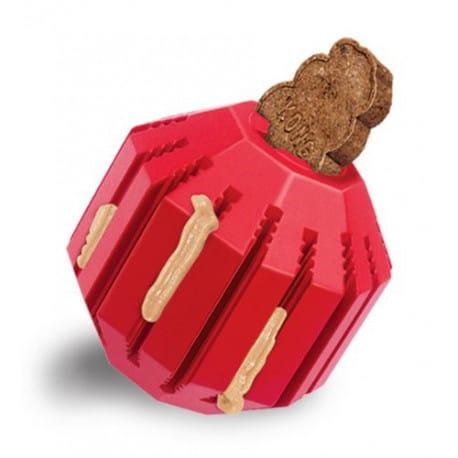 Kong Stuff a Ball M dentálnej hračka plniace 8cm