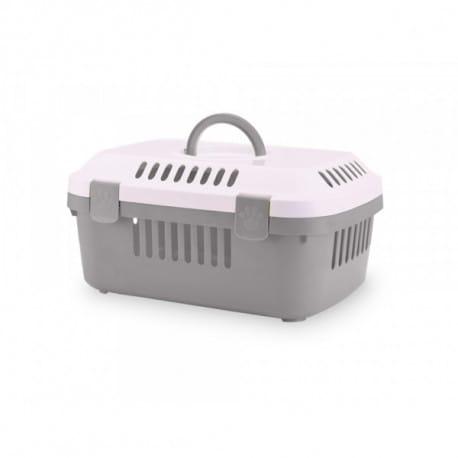 Savic Discovery Compact prepravka 48,5x33x23,5 cm sivá