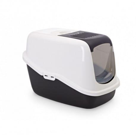 Savic NESTOR toaleta pre mačky 56x39x38cm čierna