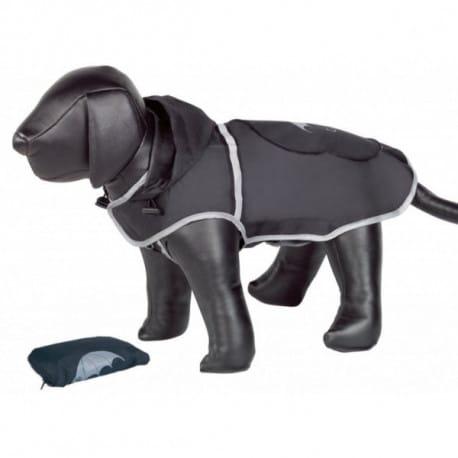 Nobby Rainy čierna reflexná pláštenka pre psa 40cm