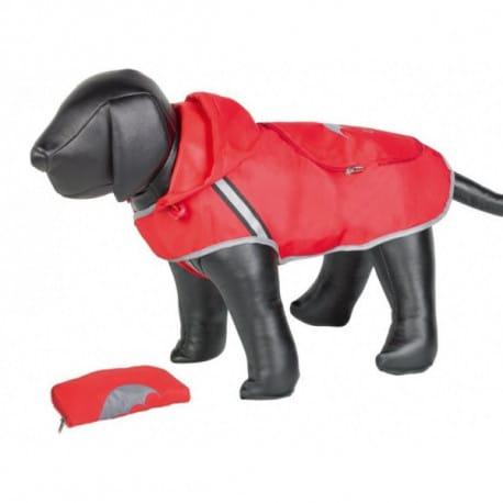 Nobby Rainy červená reflexná pláštenka pre psa 44cm