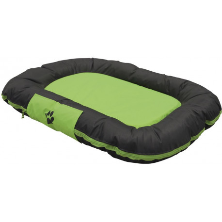 Nobby RENO odolný polštář pro psy zelená 92x68x11cm