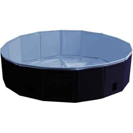 Nobby bazén pre psa skladací modrý s krytom L 160x30cm