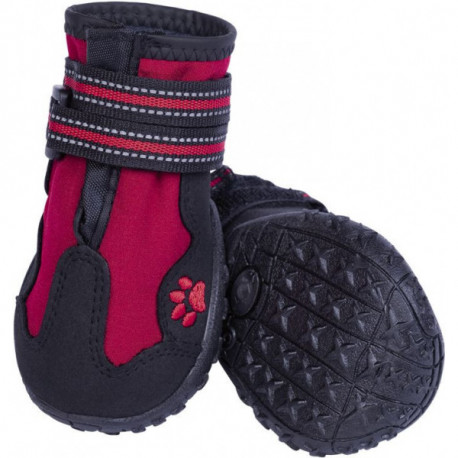 Nobby RUNNERS ochranné topánky pre psov M 2ks červená