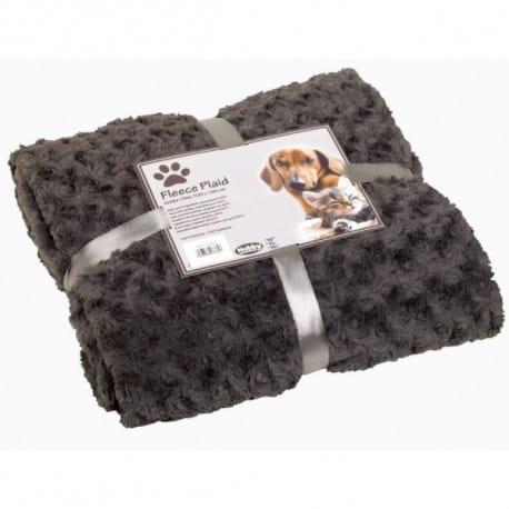 Nobby Super Soft fleecová měkká deka 100x150cm šedá